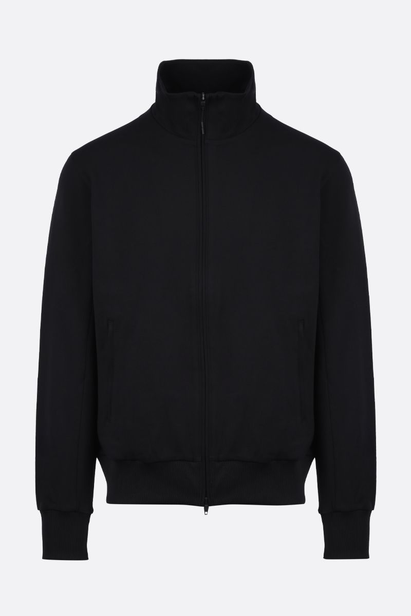 Y-3: Y-3 CL Logo technical jersey sweatshirt Color Black_1