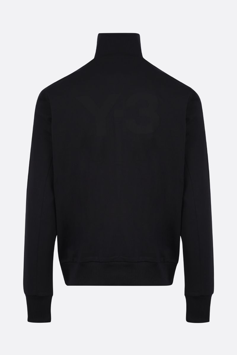 Y-3: Y-3 CL Logo technical jersey sweatshirt Color Black_2