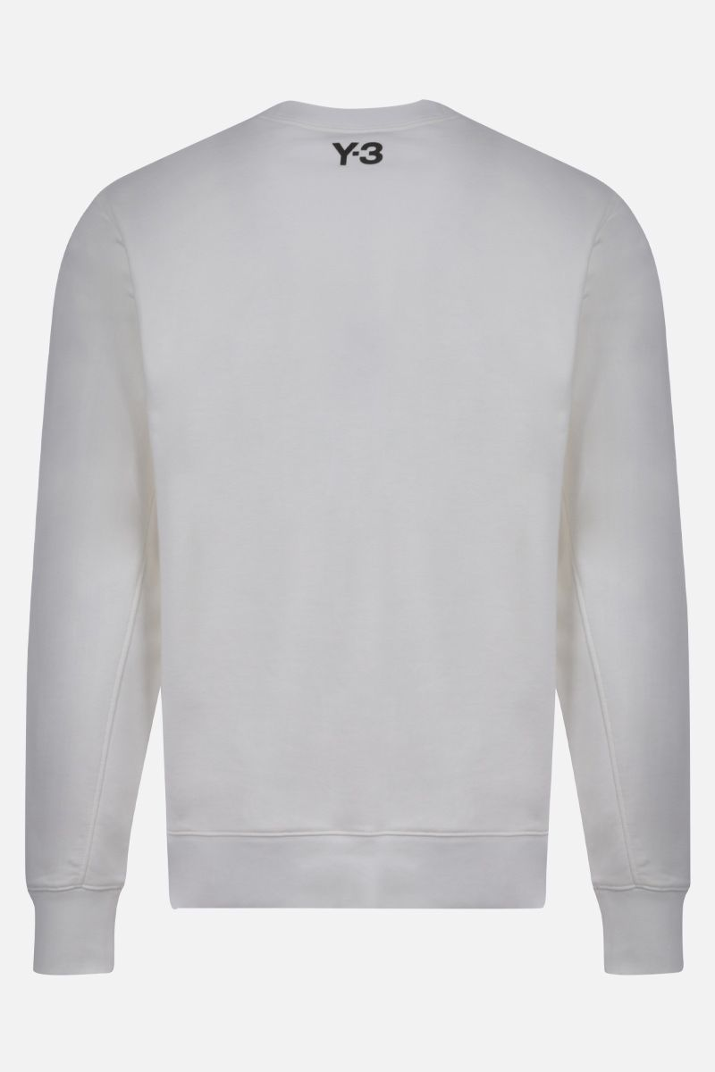 Y-3: Y-3 CH1 Graphic cotton sweatshirt Color White_2