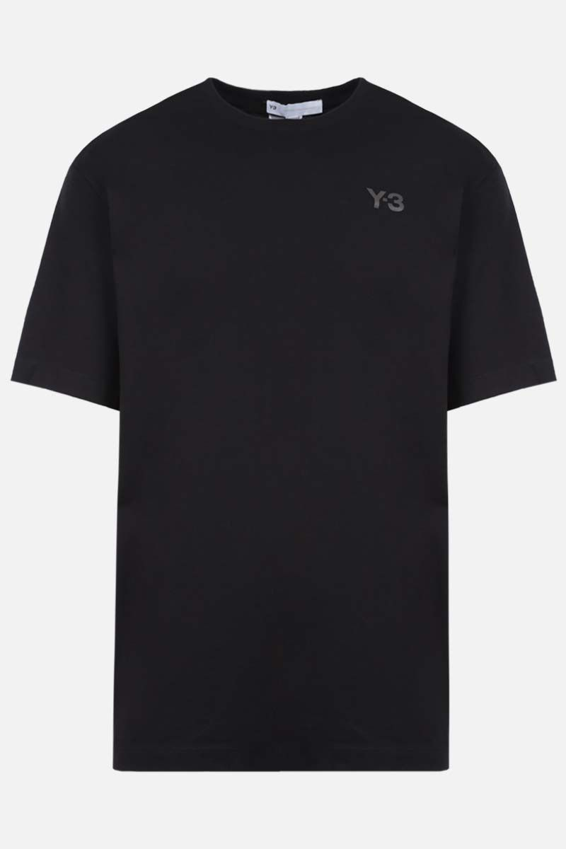Y-3: CH1 GFX cotton t-shirt Color Black_1