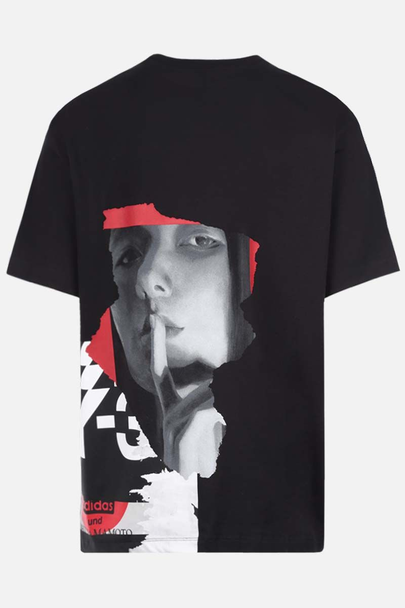 Y-3: CH1 GFX cotton t-shirt Color Black_2