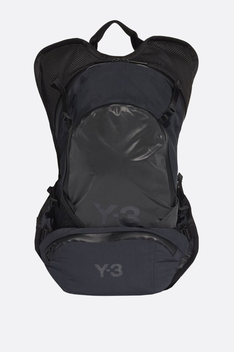 Y-3: Y-3 CH1 Reflective nylon backpack Color Black_1