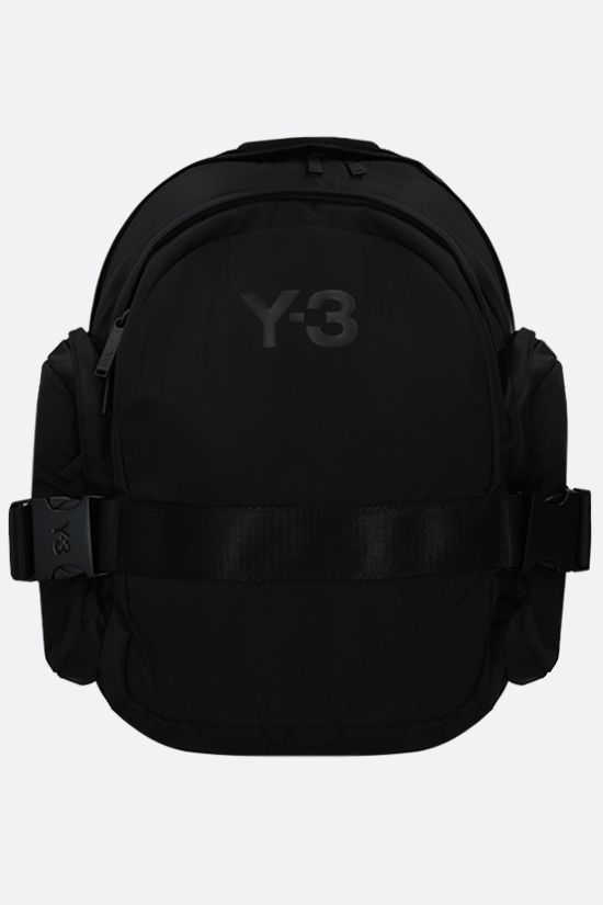 Y-3: Y-3 CH2 nylon backpack Color Black_1