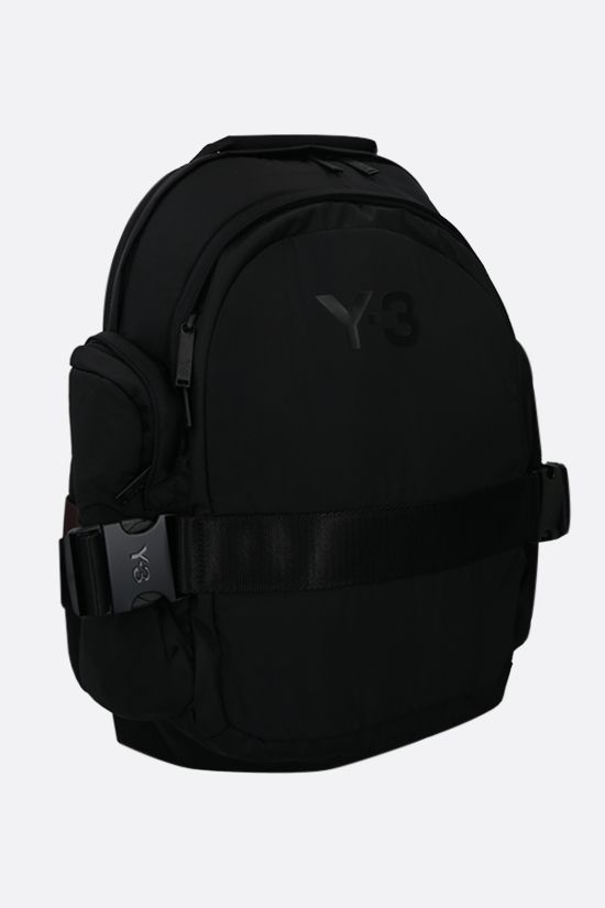 Y-3: Y-3 CH2 nylon backpack Color Black_2