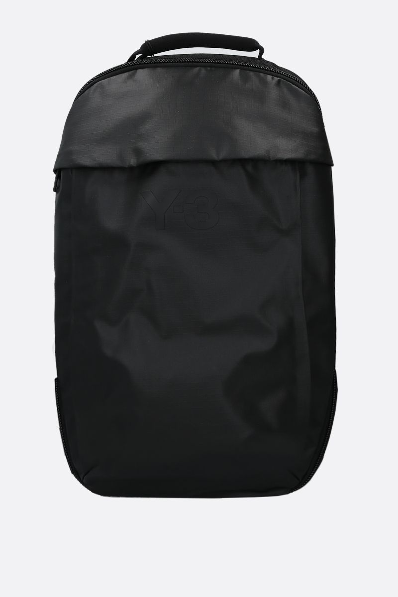 Y-3: Y-3 CL nylon backpack Color Black_1