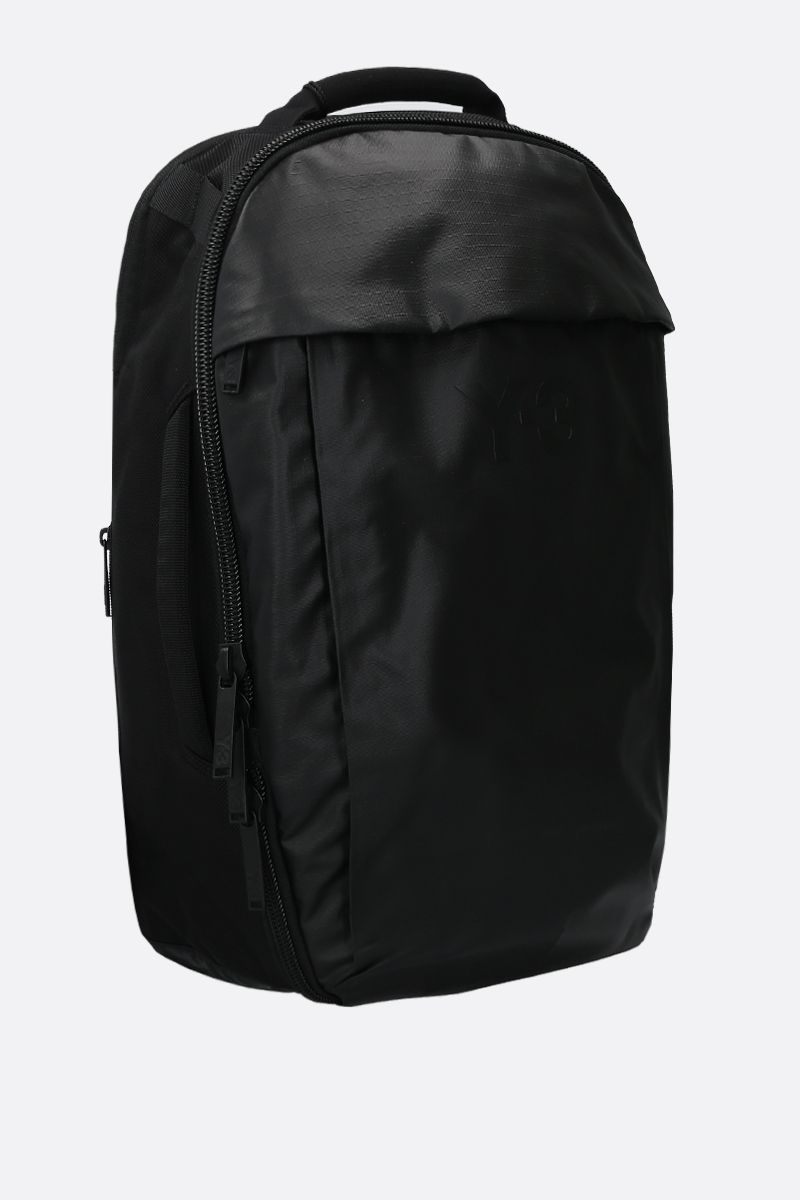 Y-3: Y-3 CL nylon backpack Color Black_2