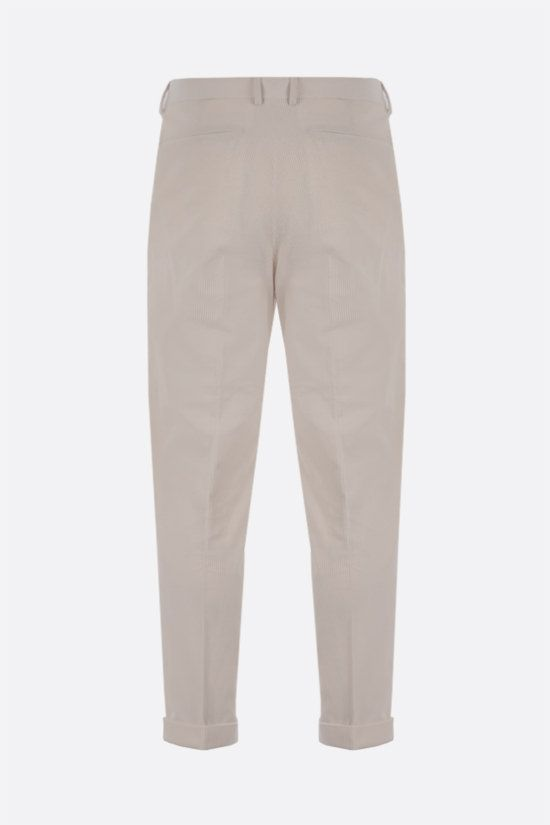 Z ZEGNA: double-pleated corduroy pants Color White_2