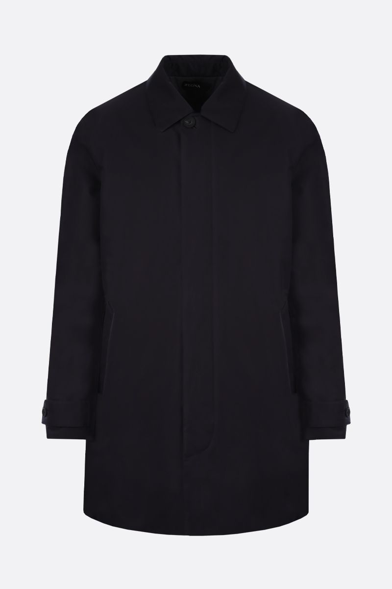 Z ZEGNA: nylon padded overcoat Color Blue_1