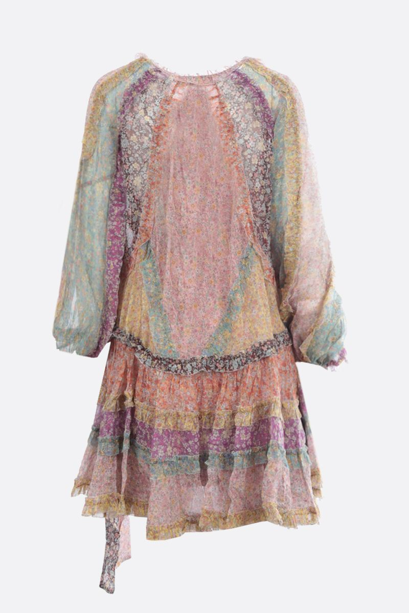 ZIMMERMANN: Carnaby floral silk minidress Color Multicolor_2