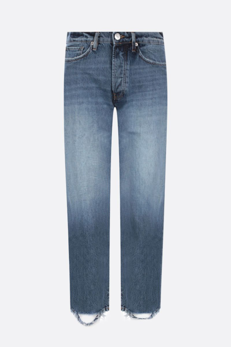 3X1: Sabina Girlfriend cropped jeans Color Blue_1