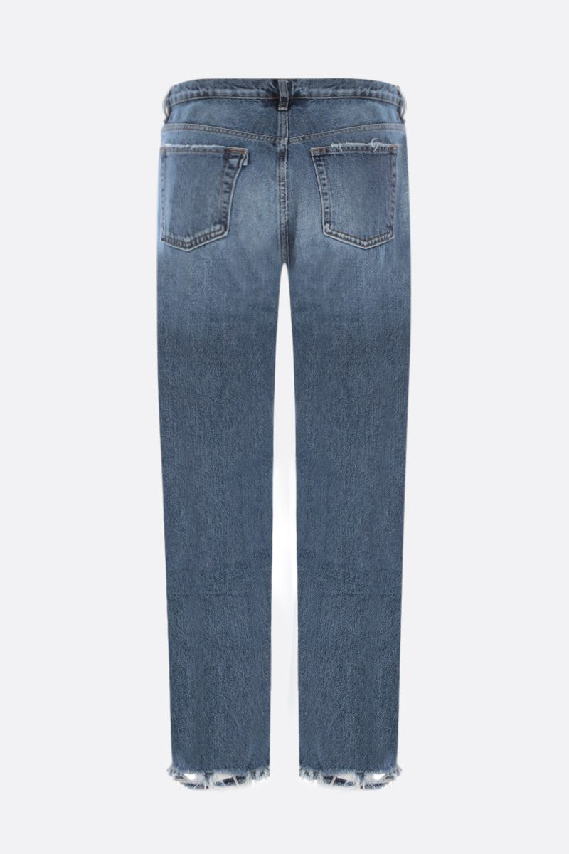 3X1: Sabina Girlfriend cropped jeans Color Blue_2