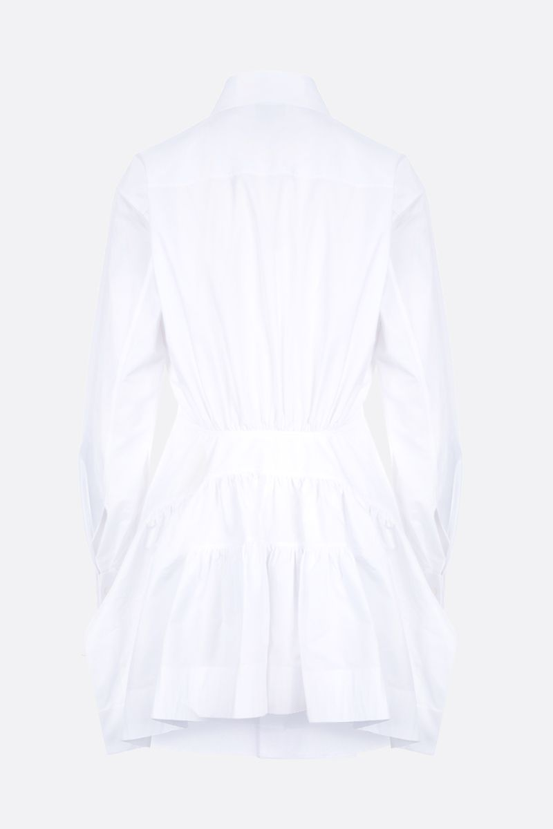ALAIA: poplin structured shirt Color White_2