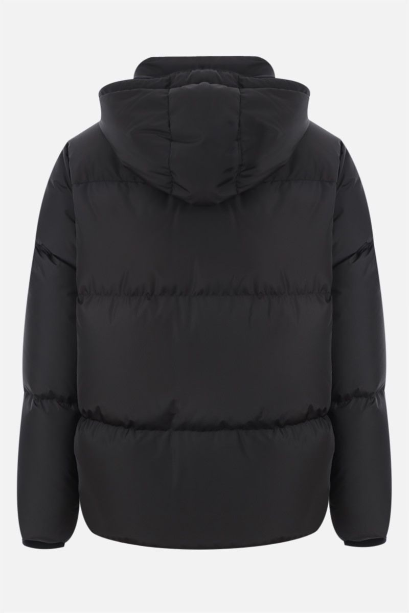 A.P.C.: Ugo down jacket in technical ripstop Color Black_2