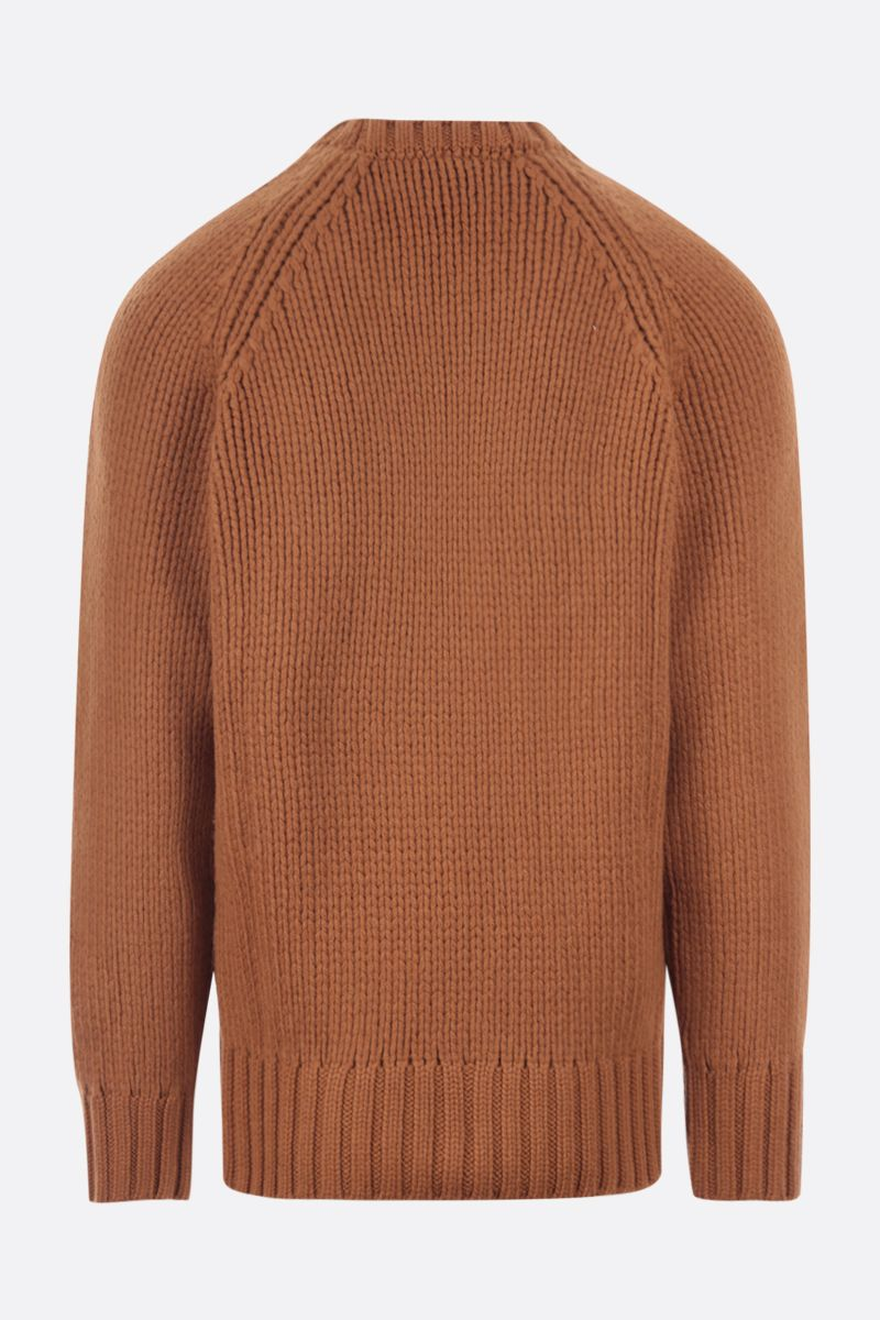 A.P.C.: Ethan oversize wool pullover Color Brown_2