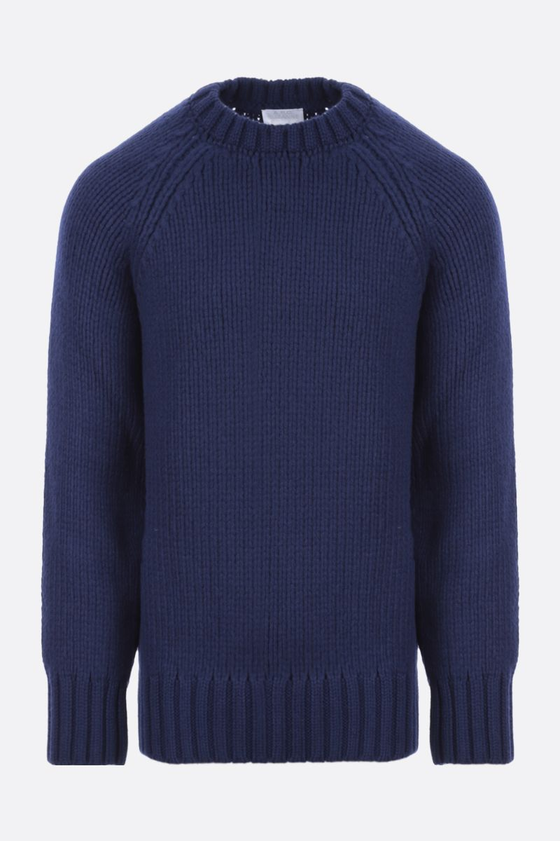 A.P.C.: Ethan oversize wool pullover Color Blue_1