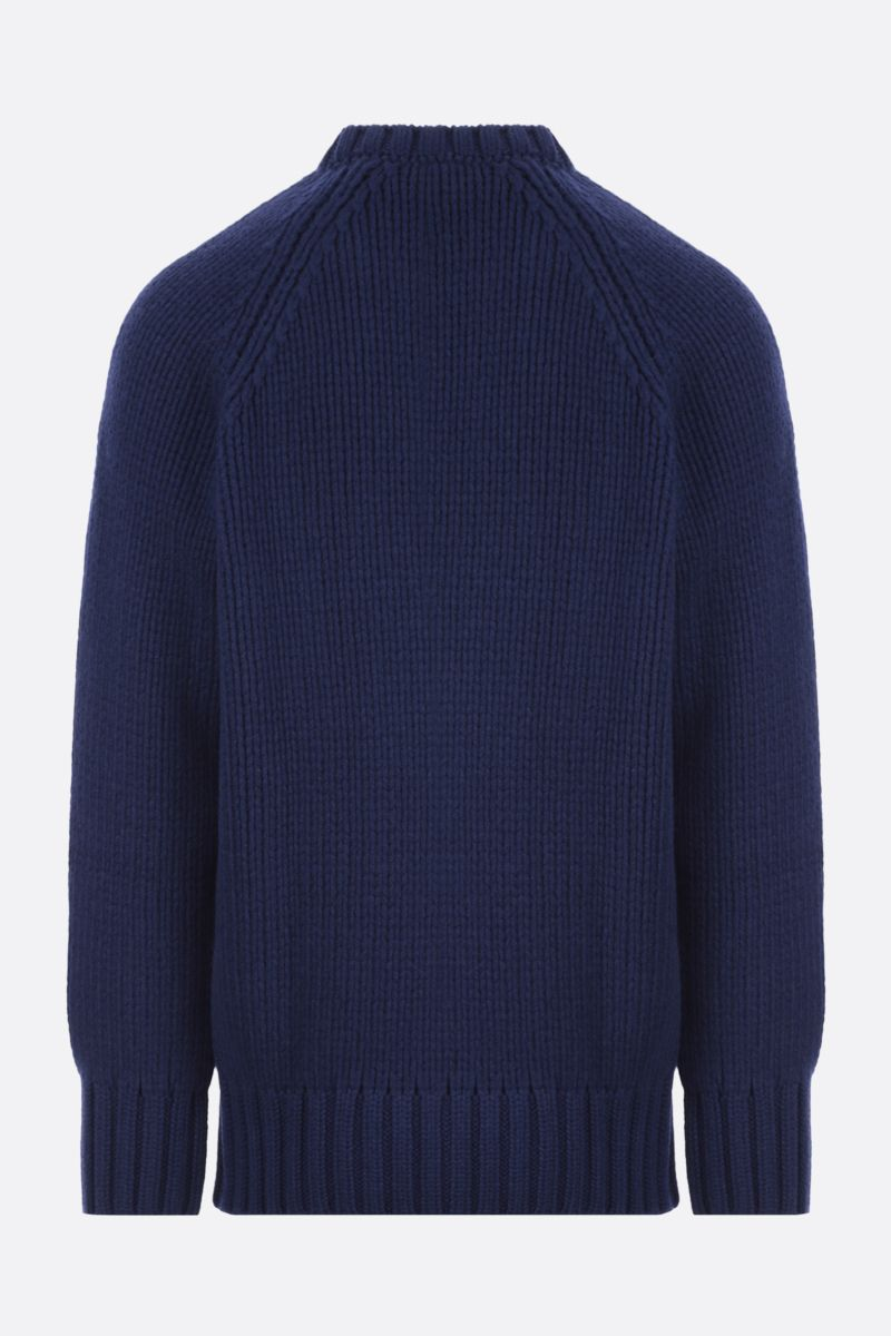 A.P.C.: Ethan oversize wool pullover Color Blue_2