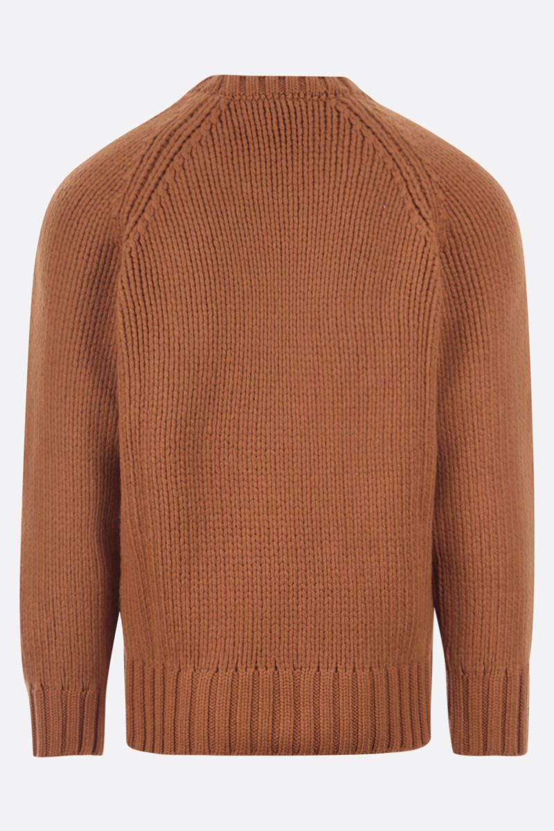 A.P.C.: pullover oversize Ethan in lana Colore Brown_2