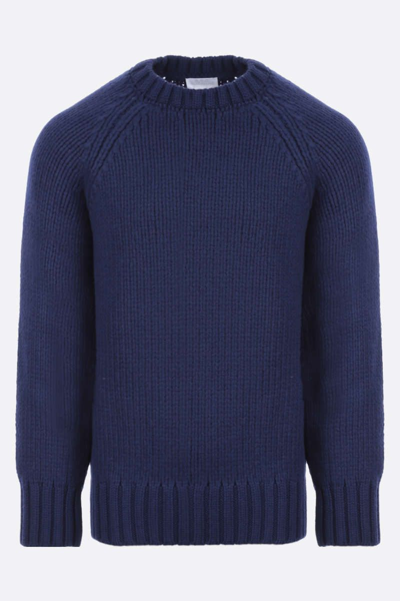 A.P.C.: pullover oversize Ethan in lana Colore Blue_1