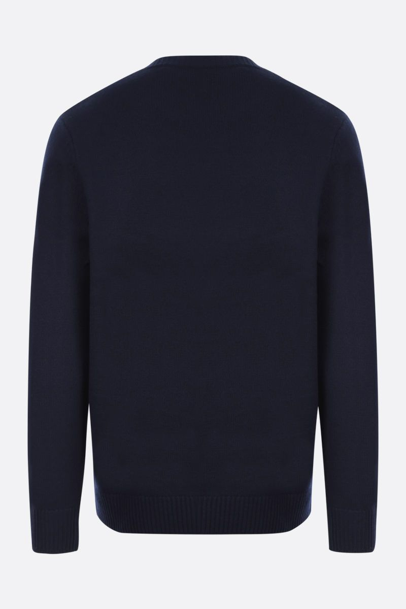 A.P.C.: pullover Edward in lana Colore Blue_2