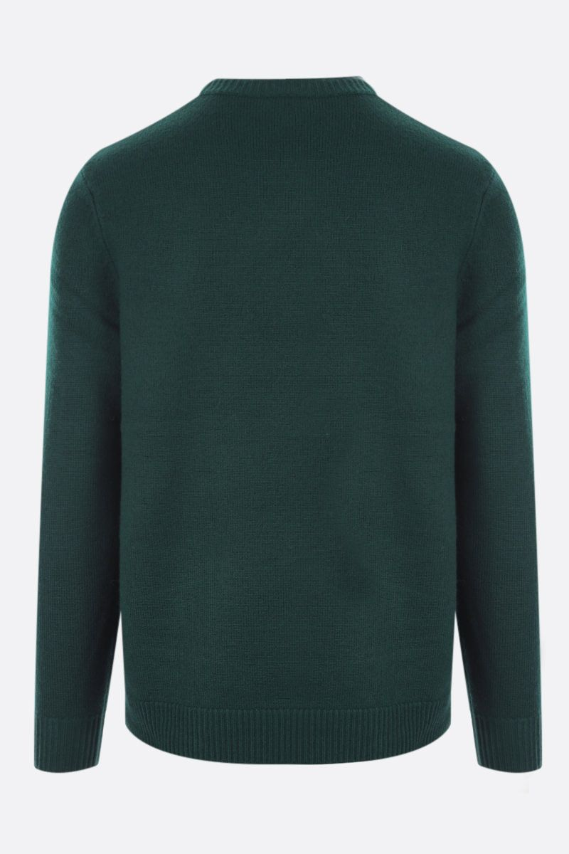 A.P.C.: pullover Edward in lana Colore Green_2