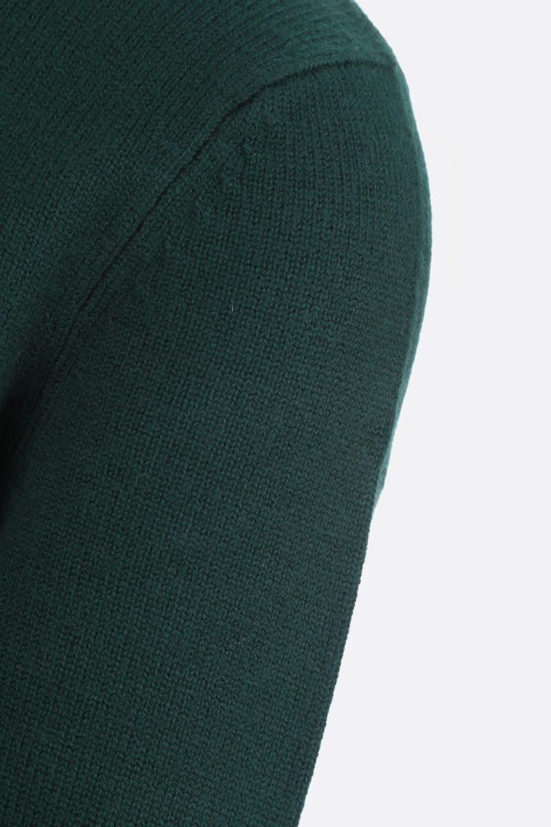 A.P.C.: pullover Edward in lana Colore Green_3
