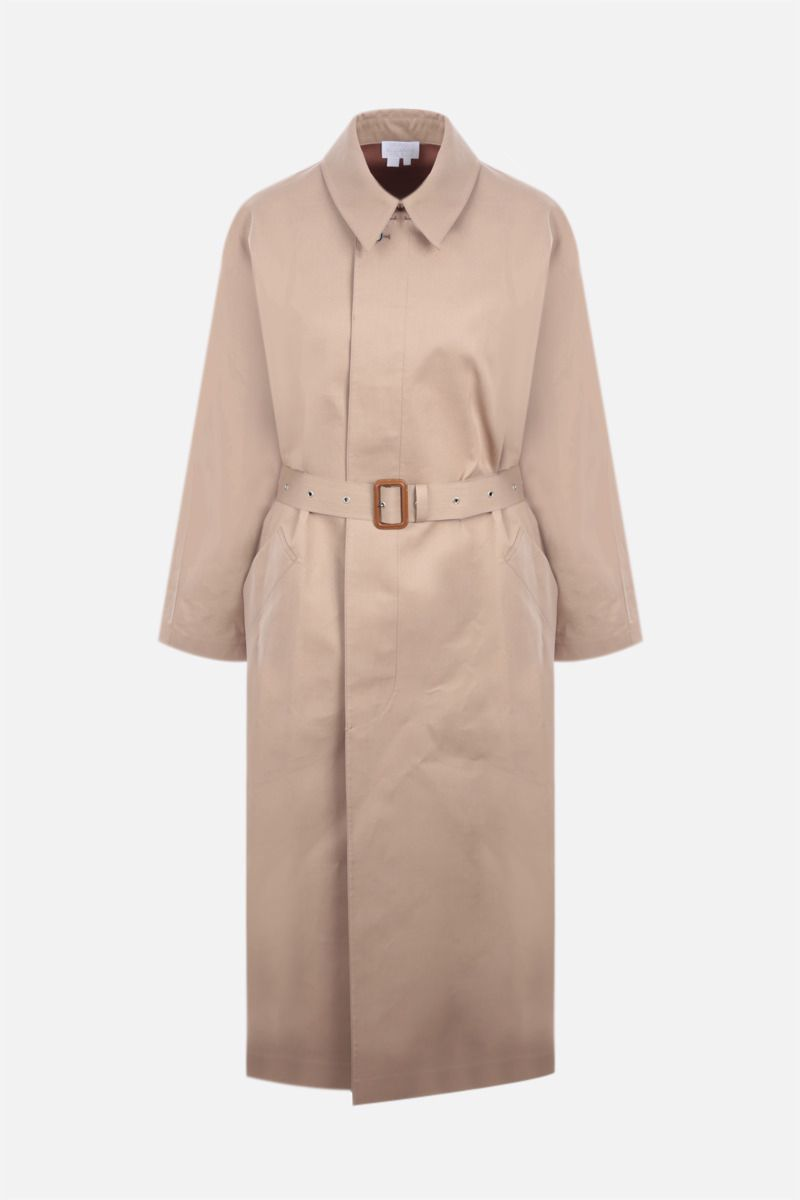 A.P.C.: Balt single-breasted cotton trench coat Color Neutral_1