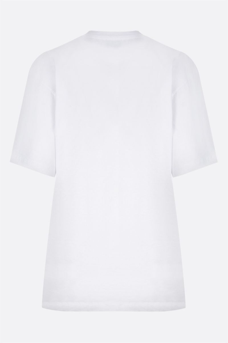 ARIES: t-shirt Temple in cotone Colore White_2