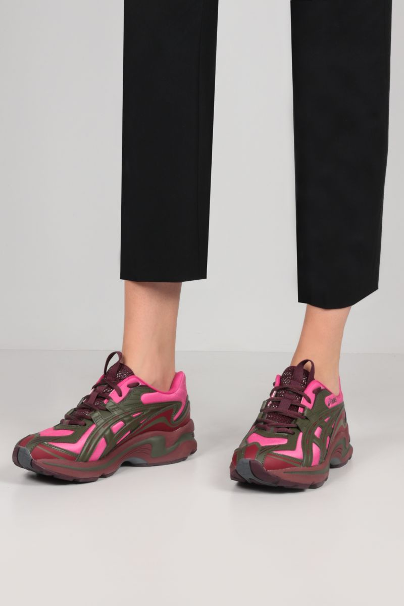 ASICS: Gel-Preleus sneakers in a mix of materials Color Pink_2