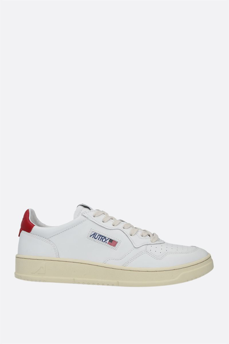 AUTRY: Autry Medalist smooth leather sneakers Color Multicolor_1