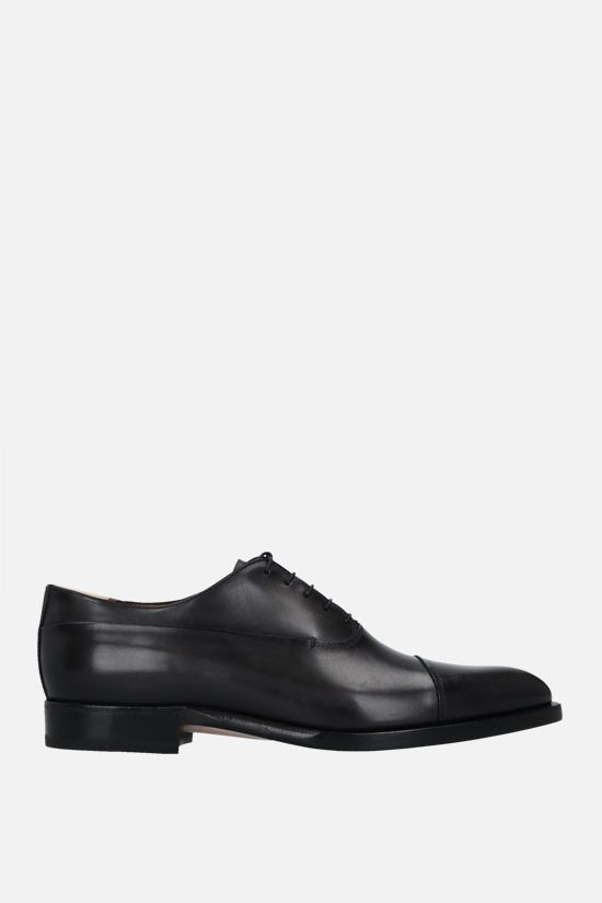 BERLUTI: Equilibre oxford shoes in Venezia leather Color Black_1