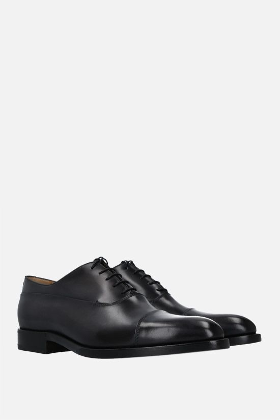 BERLUTI: Equilibre oxford shoes in Venezia leather Color Black_2