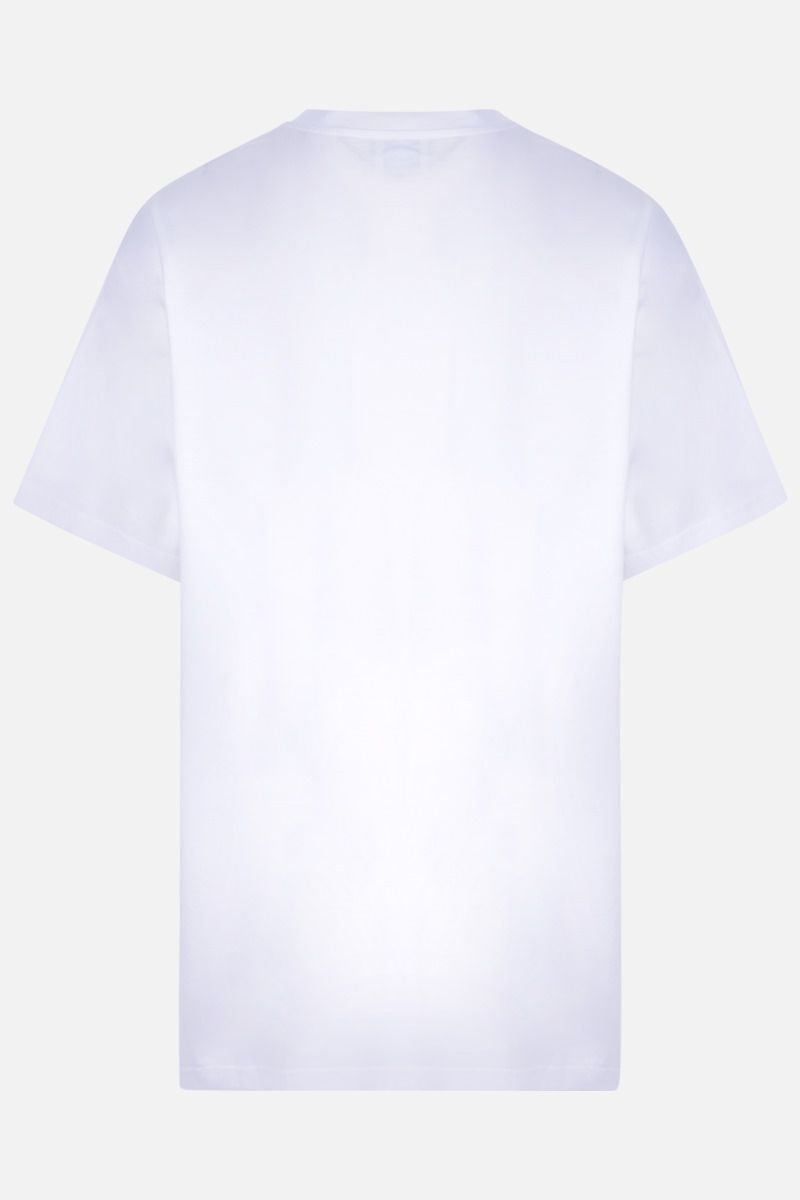 BURBERRY: t-shirt oversize Ronin in cotone Colore Bianco_2