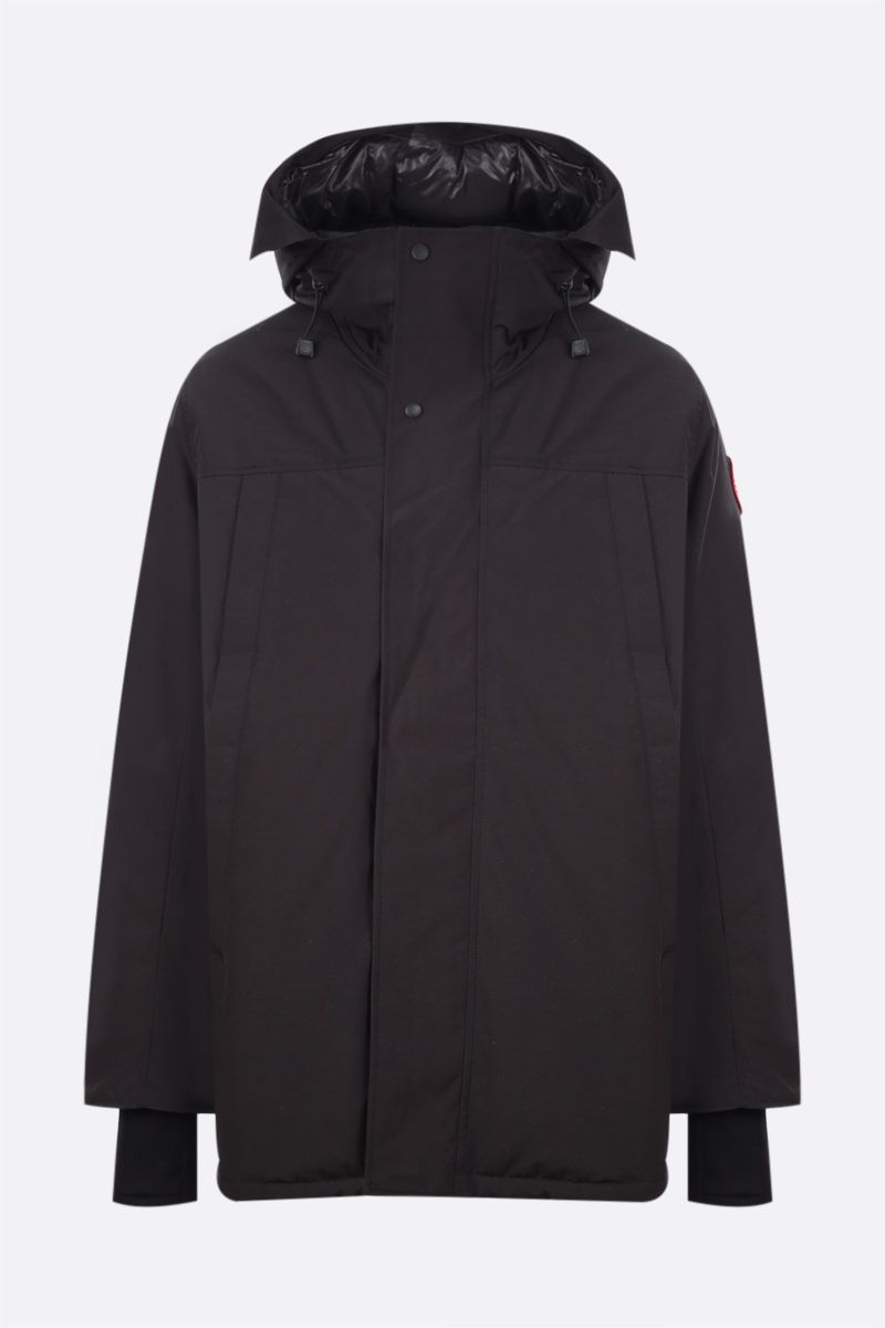 CANADA GOOSE: Sanford technical fabric down jacket Color Black_1