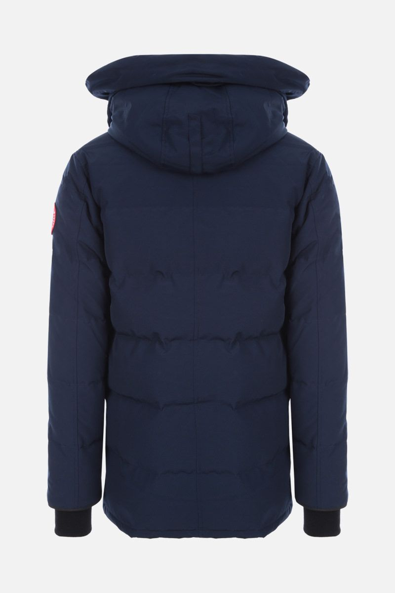 CANADA GOOSE: Carson technical fabric down jacket Color Blue_2