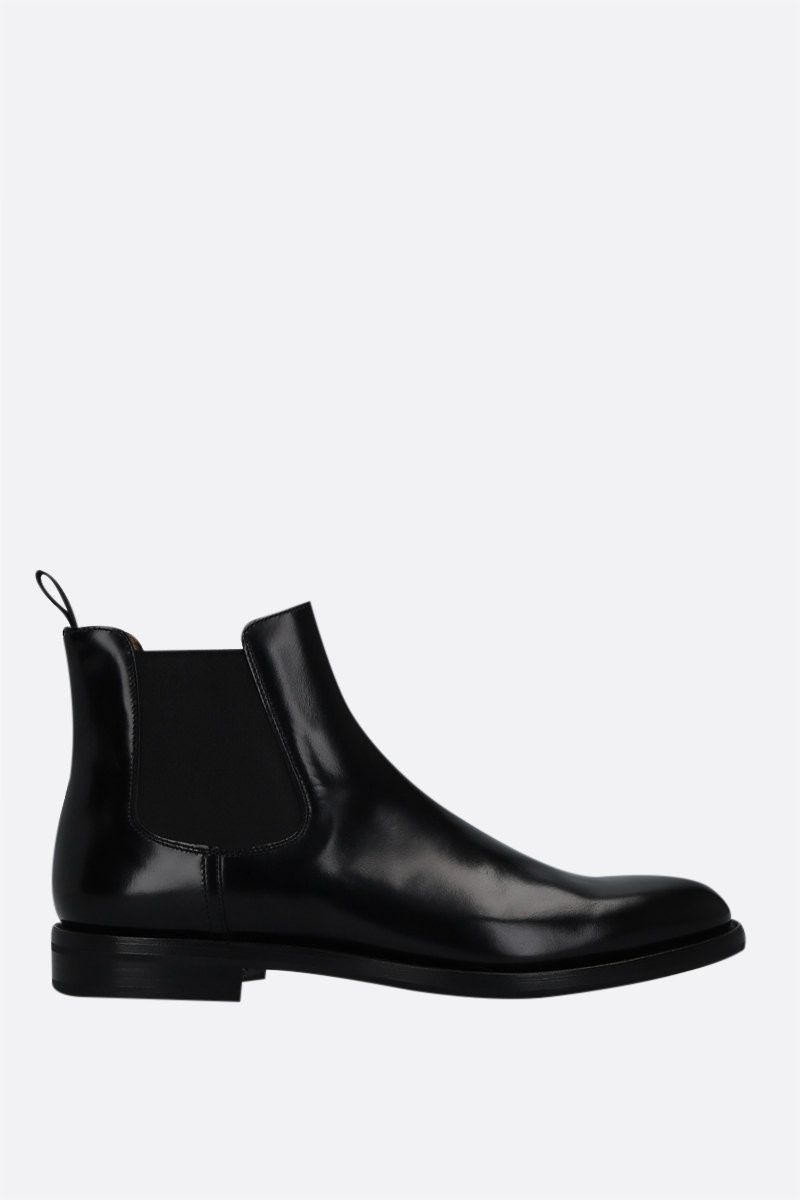 CHURCH'S: Monmouth WG brushed leather chelsea boots Color Black_1