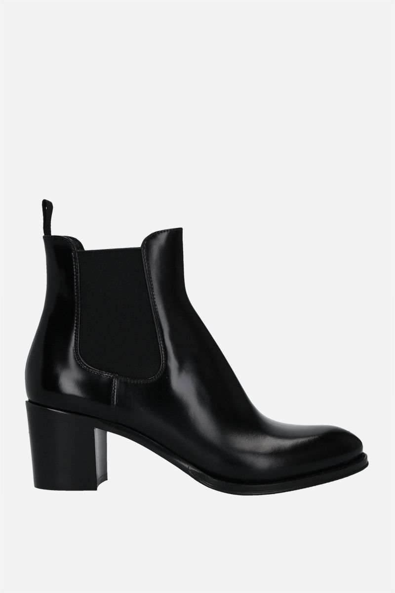 CHURCH'S: Shirley brushed leather ankle boots Color Black_1