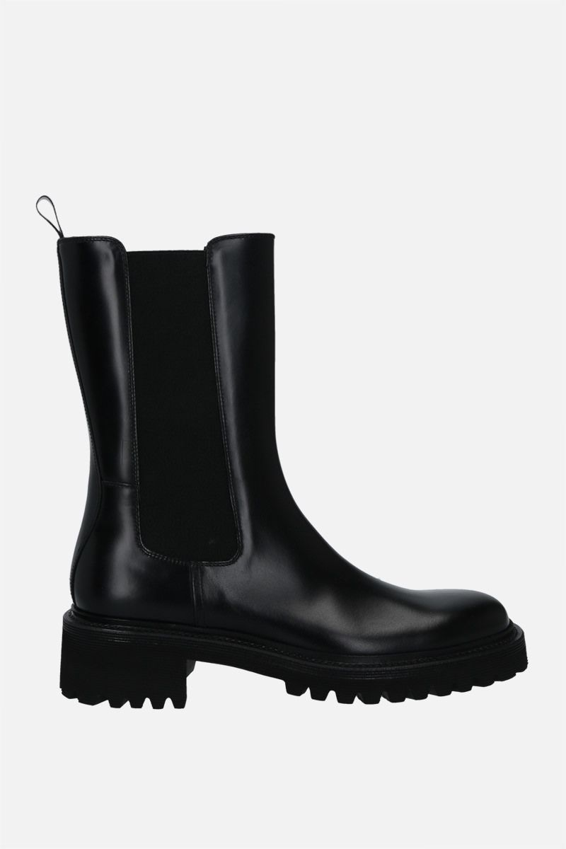 CHURCH'S: Gaelle rois brushed leather boots Color Black_1
