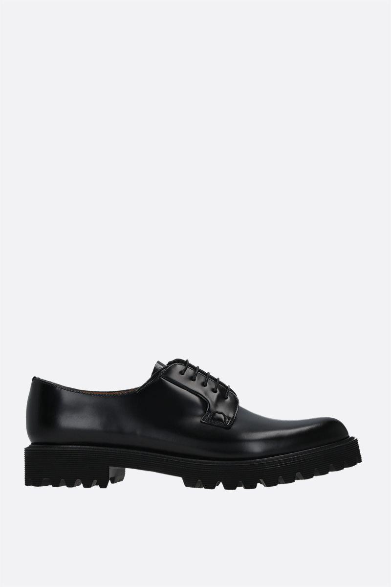 CHURCH'S: Shannon derby shoes in Rois leather Color Black_1