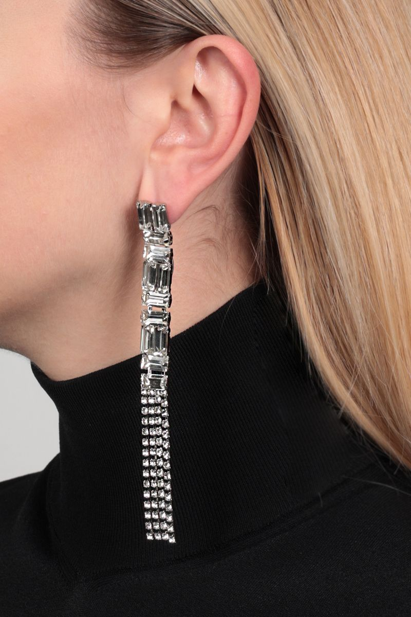 DEA: Vittoria metal and crystals pendant earrings Color Neutral_2