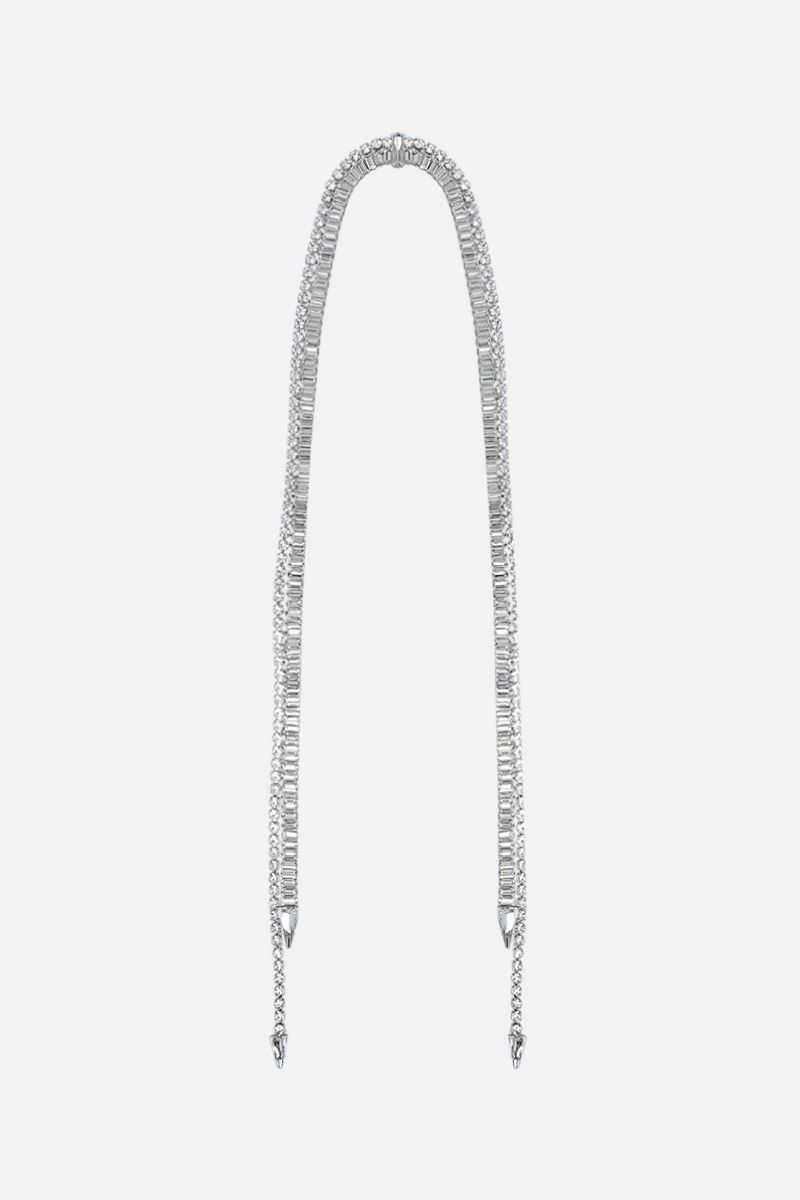 DEA: Aurora metal and crystal long necklace Color Neutral_1