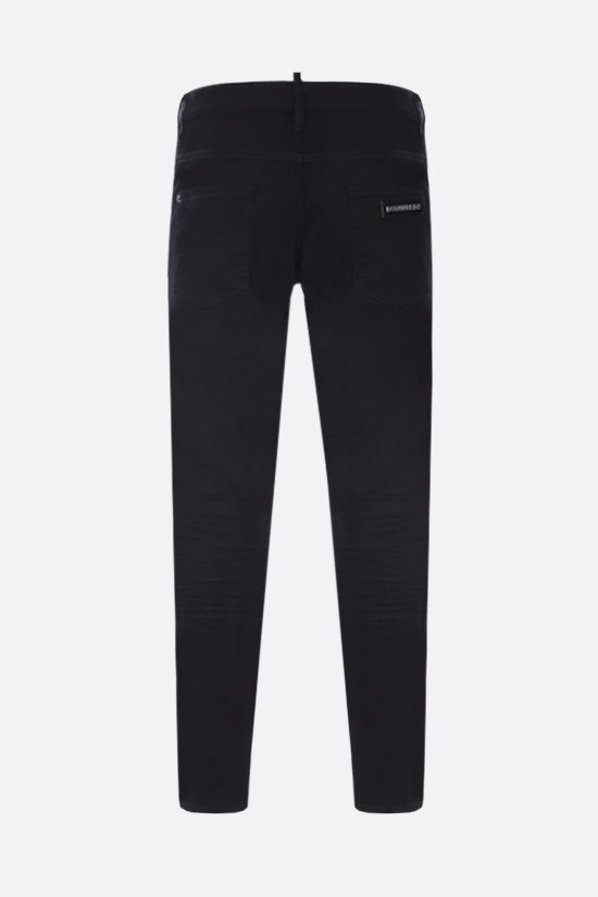 DSQUARED2: Skater jeans Color Black_2