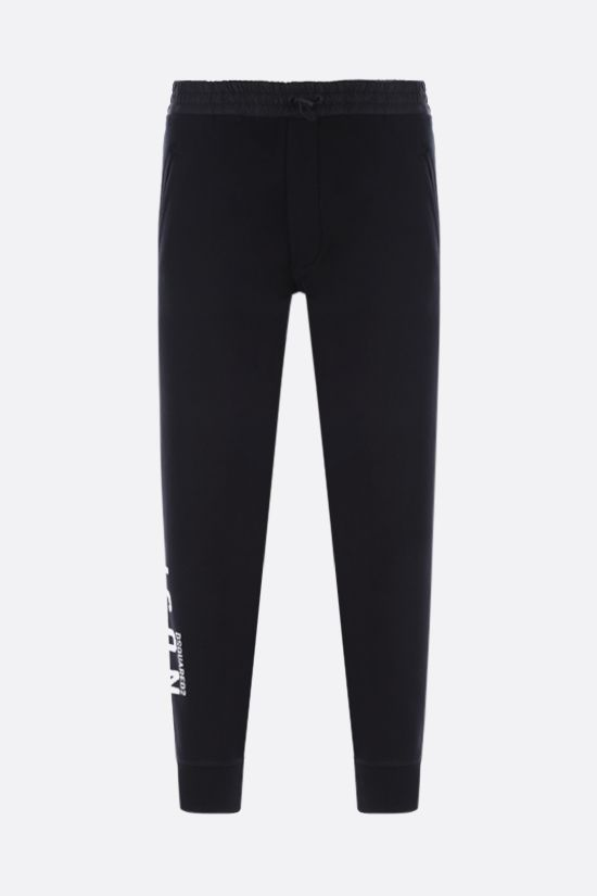 DSQUARED2: Icon Dsquared2 cotton joggers Color Black_1