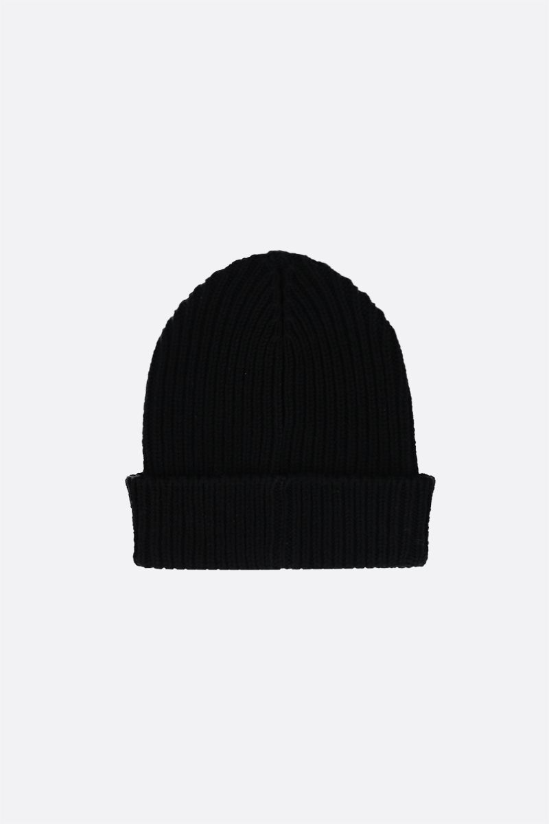 ETRO: Pegaso embroidered wool beanie Color Black_2