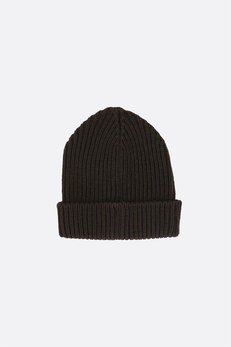 ETRO: Pegaso embroidered wool beanie Color Green_2