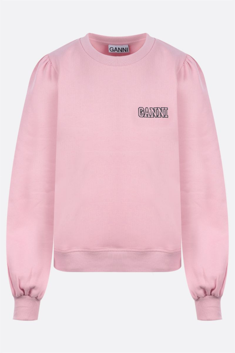 GANNI: felpa Software Isoli in jersey Colore Pink_1