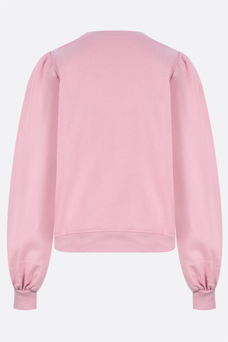 GANNI: felpa Software Isoli in jersey Colore Pink_2