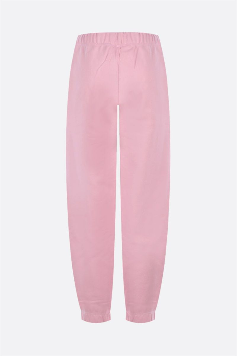 GANNI: Software Isoli jersey joggers Color Pink_2