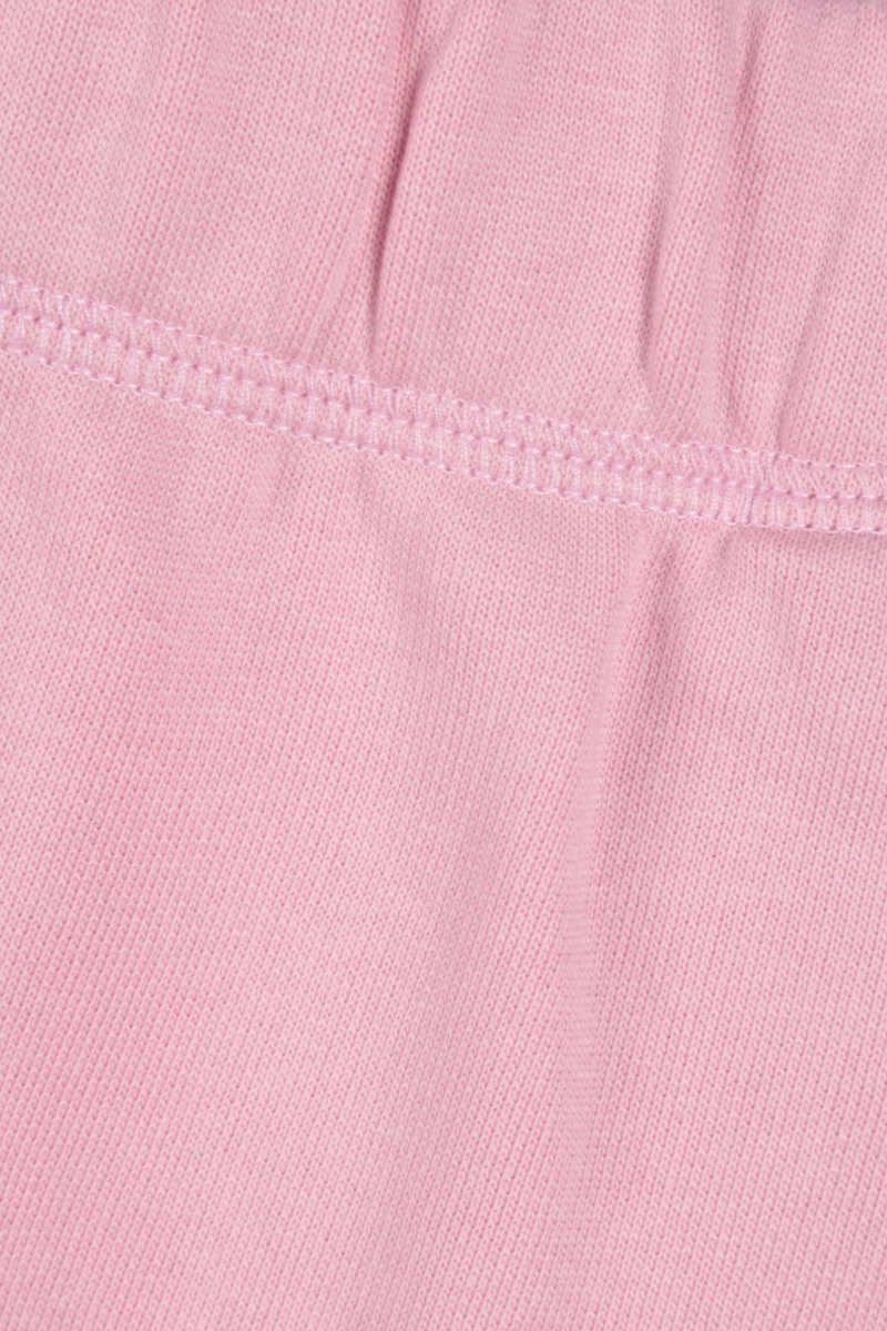 GANNI: pantalone jogging Software Isoli in jersey Colore Pink_3
