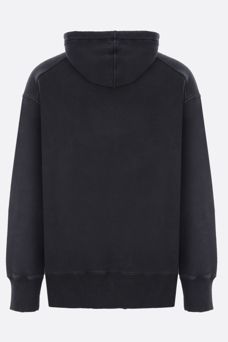 GIVENCHY: felpa oversize Givenchy Barbed Wire in cotone Colore Nero_2
