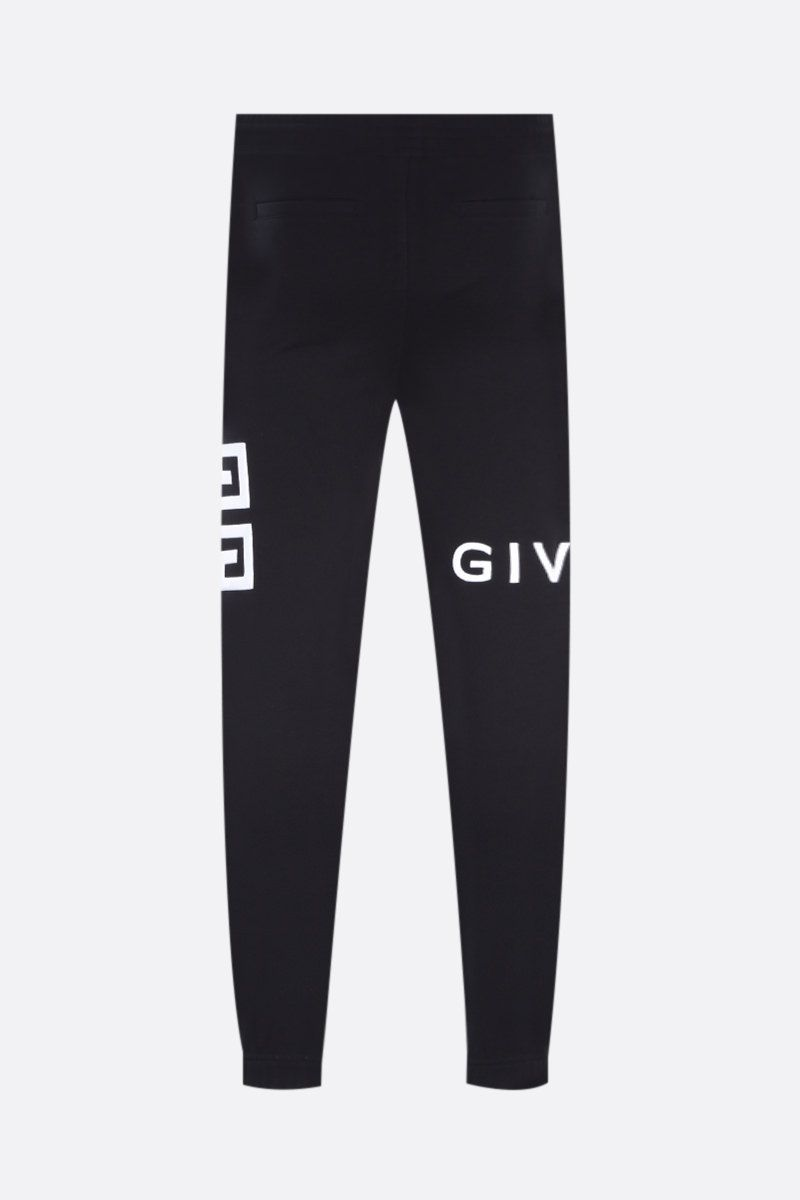 GIVENCHY: Givenchy 4G cotton joggers Color Black_2